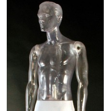 Transparent mannequin male 111nt