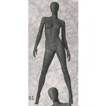 Mannequin vitrine femme abstrait pf01