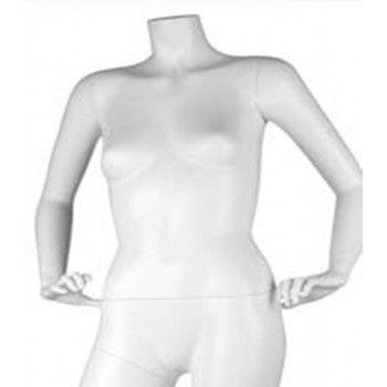 Mannequin vitrine femme sans tete y630