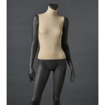 Mannequin vitrine femme cld12 sans tête