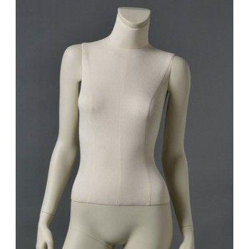 Manichino donna cltd12 senza testa bianca