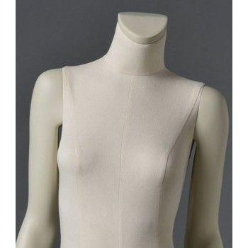 Mannequin vitrine femme cltd12 sans tête blanc