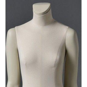 Maniquí senora cltd26 sin cabeza blanco