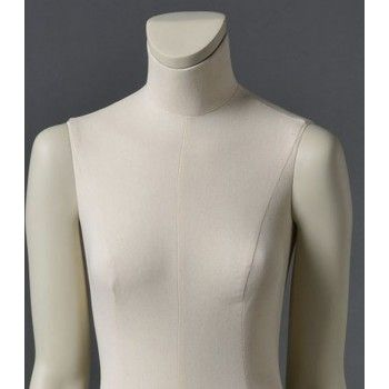 Mannequin vitrine femme cltd26 sans tête blanc