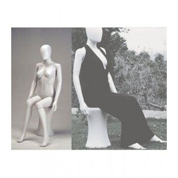 Mannequin seated woman sfh-20