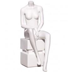 Mannequin assis femme sans tête y640-03