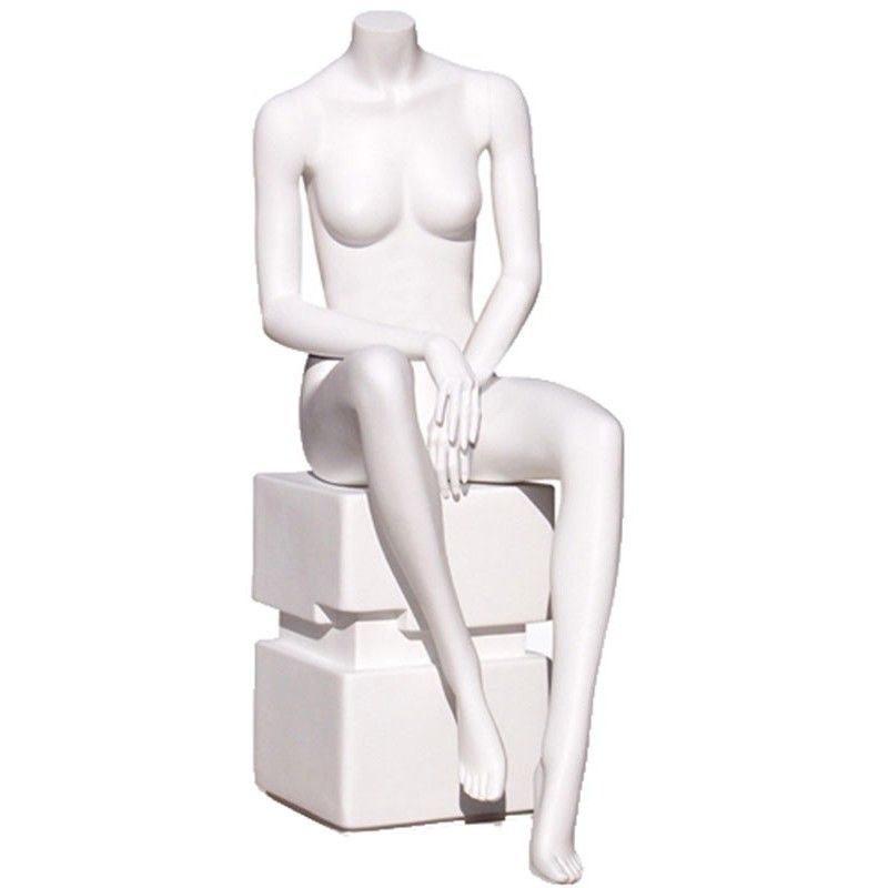 Mannequin woman seated y640-03