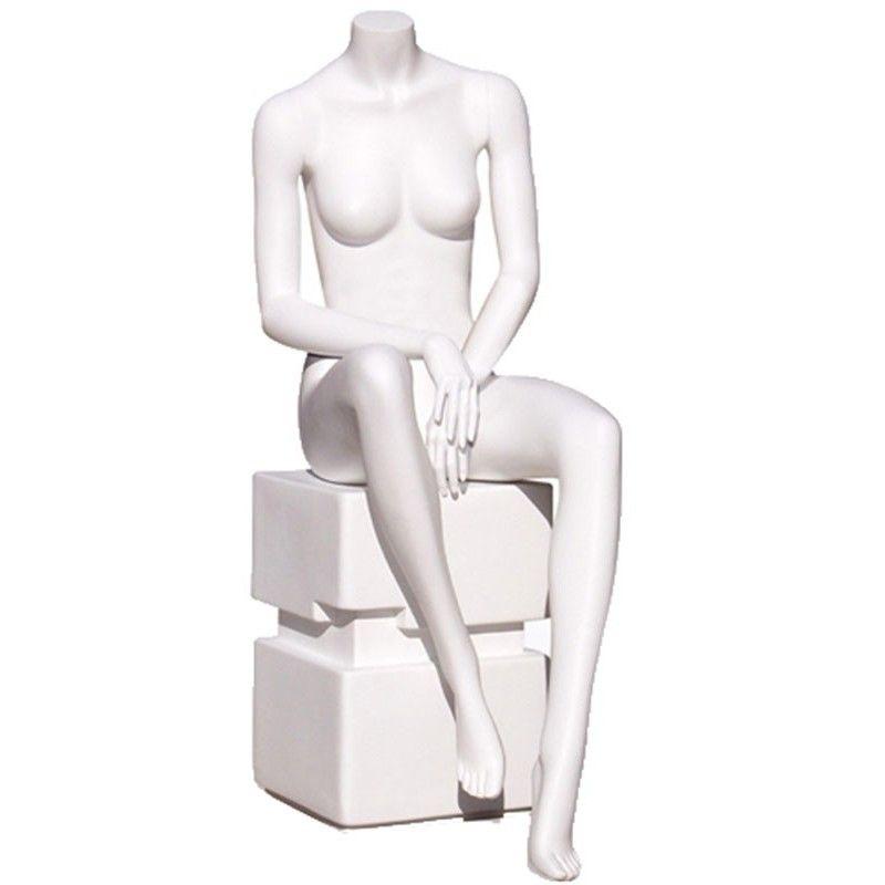 Sitzend schaufensterpuppe damen y640-03