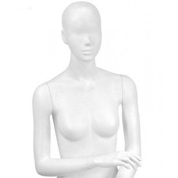 Sitzend damen schaufensterpuppe y641-03