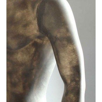 Mannequin vitrine abstraite position assise pf06