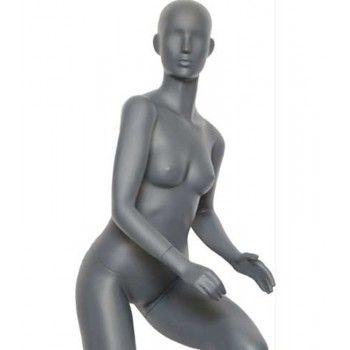 Mannequin vitrine sportif femme velo ws29