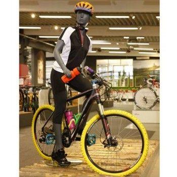 Display sport mannequin female biking ws29