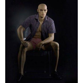 Sentado caballero maniqui ma-9b