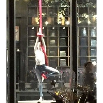 Mannequin vitrine femme yoga yga3