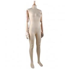 Mannequin femme vintage bras en bois btf200-1/bo
