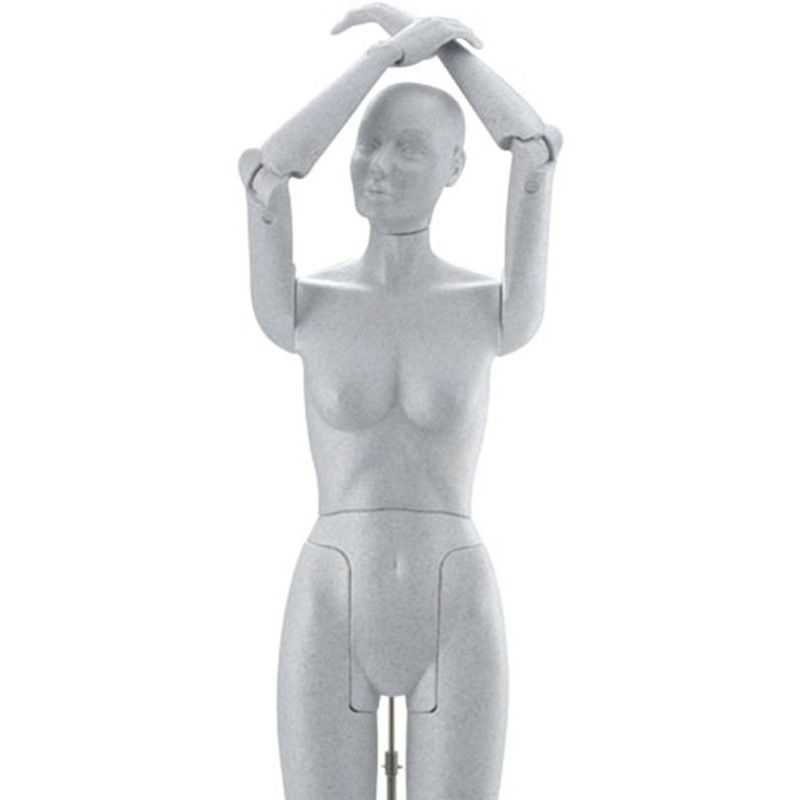 Mannequin flexible femme flexible female