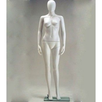 Plastic Display Mannequins Female - Mannequin plastic woman sfh-6
