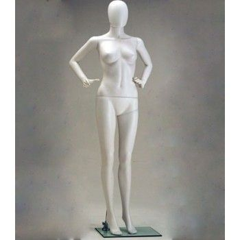 Plastic Display Mannequins Female - Mannequin woman plastic sfh-7