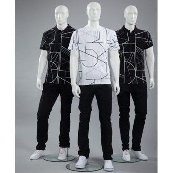 ABSTRACT MALE MANNEQUIN DIS877S MER