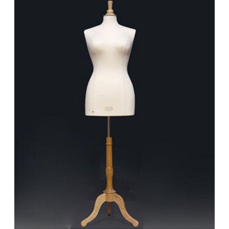 Schaufensterpuppe plus Größe Frau : Büste Frau xl