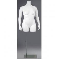 Große größe damen schaufensterpuppe bust xxxl
