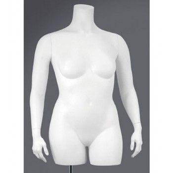 Mannequin plus size woman bust xxxl