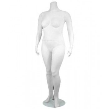 Woman plus size mannequin...