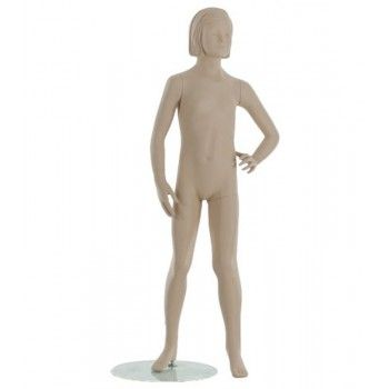 Mannequin stylized child kid girl 10