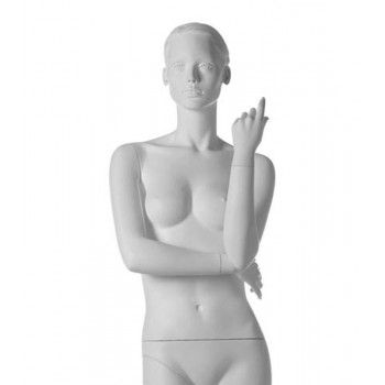 Stylized woman mannequin run ma 21