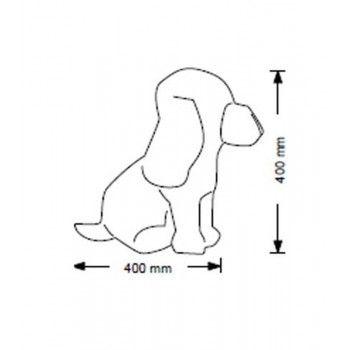Flexible hund puppen 6011