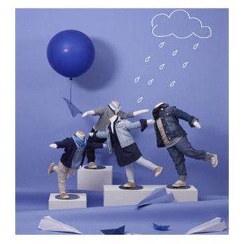 Vollbewegliche kinder schaufensterfiguren 3 monat
