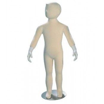 Manichini bambino flexible stilizzata e realistico 4 anni - Manichini bambino flessibile