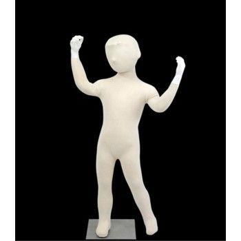 Flexible Kinderschaufensterpuppe - Kind-mannequin-kopf mit flexiblen 4 jahre
