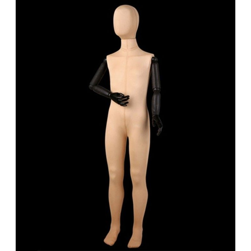 Mannequin child arms wood bte207-1