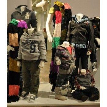 Niño maniqui sin cabeza kid 8 ans - 6thav