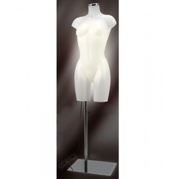 Buste femme mannequin bust light