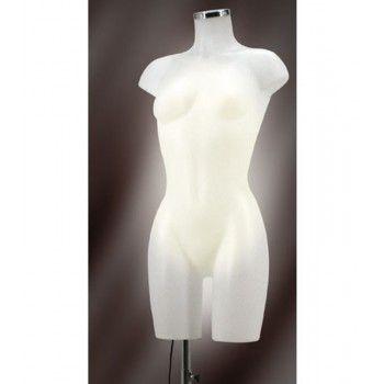 Woman bust mannequin bust light