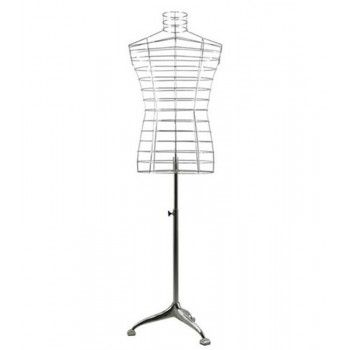Mannequin woman bust bust cage f