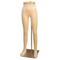 Jambe mannequin femme flexible dp725