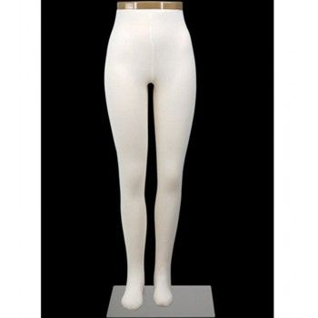 Flexible women mannequin leg dp725
