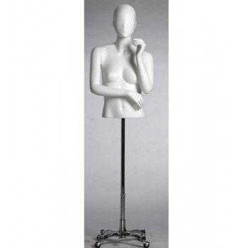 Busto de mujer con cabeza Ma40b - Bustos de senora