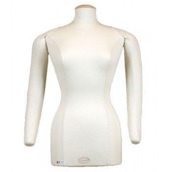 Femme mannequin buste couture bras articulés