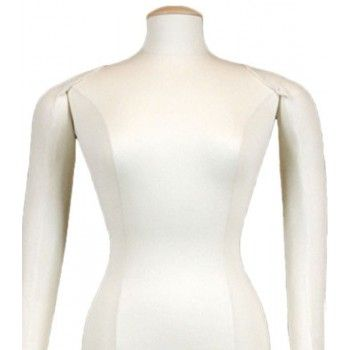 TAILORED BUST MANNEQUIN WOMAN FLEXIBLE ARMS B