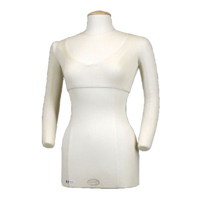 Mannequin woman tailored bust flexible arms