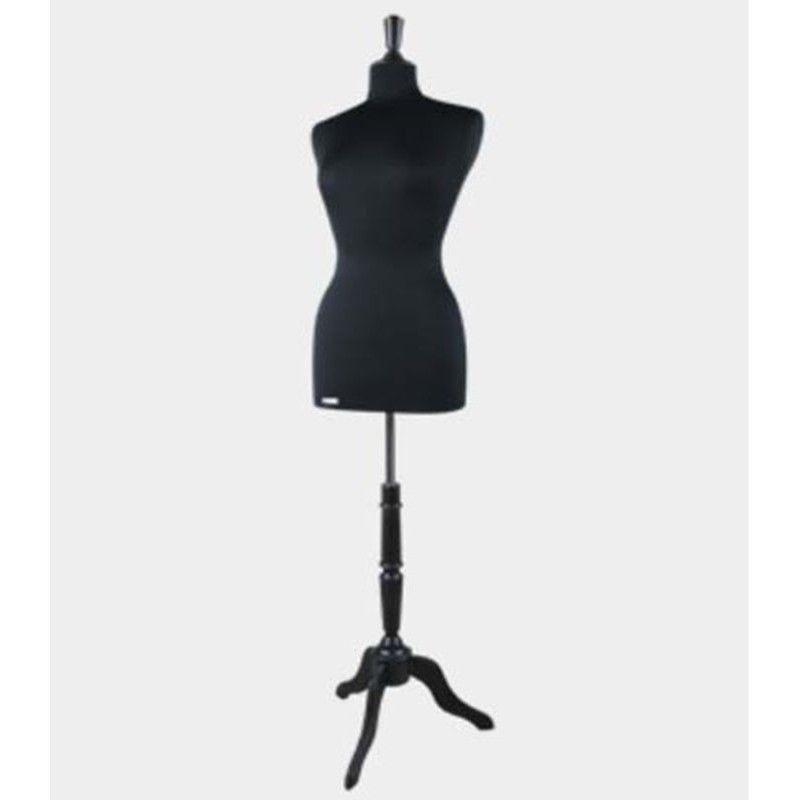 Busto de costura negro cy201