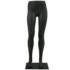 Mujer pierna maniquí hembra negro