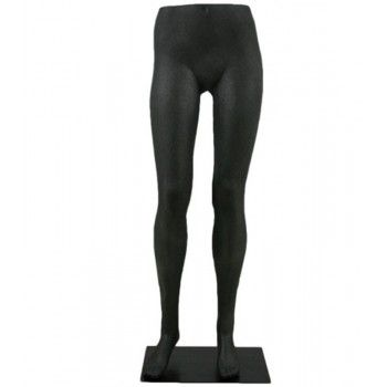 Woman leg mannequin legs female black