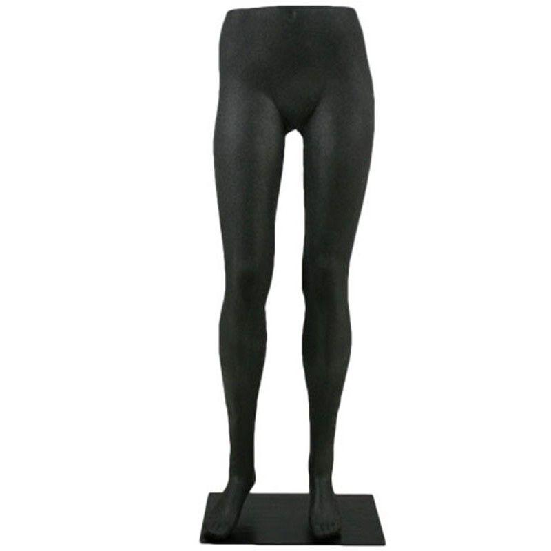 Manichino donna gamba femmina nero