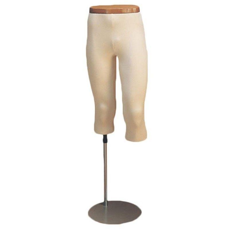 Leg mannequin man 3/4 legs jersey