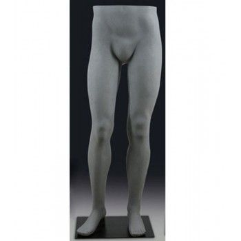 Homme mannequin jambe couleur gris